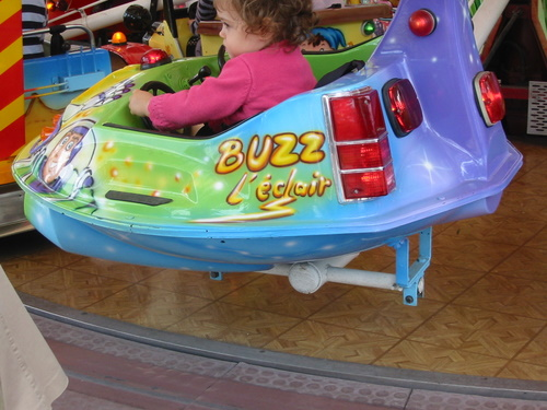Buzz L'eclair at the Jardin d'Acclimatation