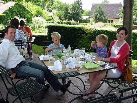Lunch in Giverny