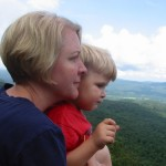 On the Long Trail with a toddler