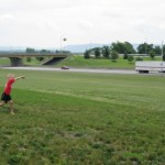 Playing catch on the PA Turnpike