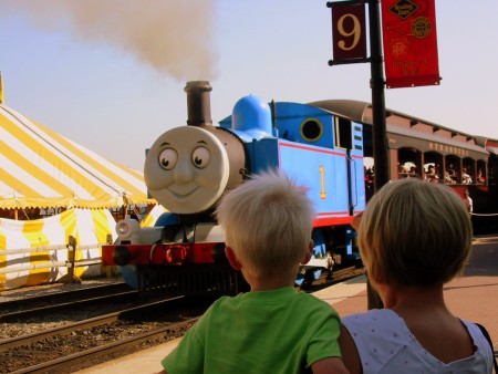 A trip back in time with Thomas and the Strasburg Railroad