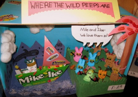 Peeps Fest 2009 Where the Wild Things Are diorama