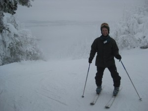 Learning to ski at Mad River Glen