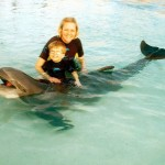 Mondays are for dreaming: Swimming with the dolphins