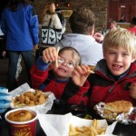 Skiing with kids: What's for lunch?