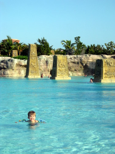 Baths Pool at Atlantis Resort Bahamas