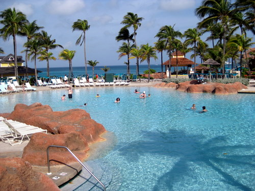 The atlantis resort paradise island bahamas top to bottom for Atlantis pools