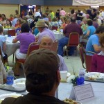 Greek Festival Dining Room