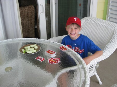 Playing Uno Virginia Beach