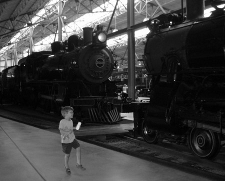 Skipping with the steam engines