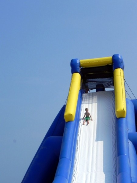 World's biggest water slide Virginia Beach