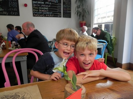 Eating out at Wild in Bath