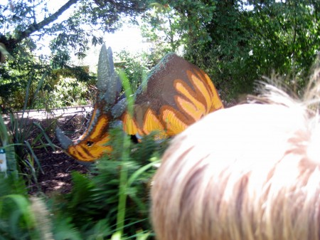 On the trail of dinos at LEGOLAND