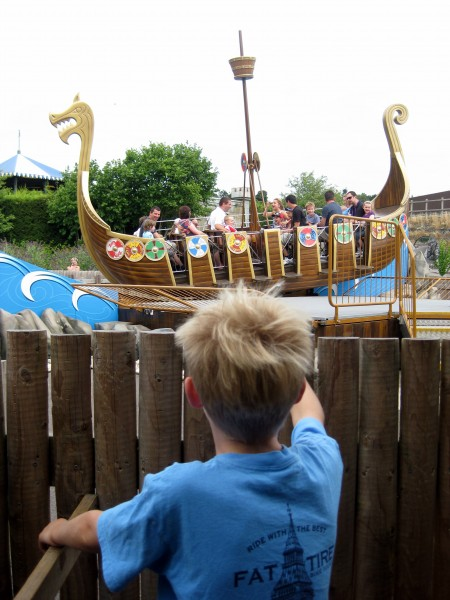 Tommy and the Viking Longboat Invader LEGOLAND