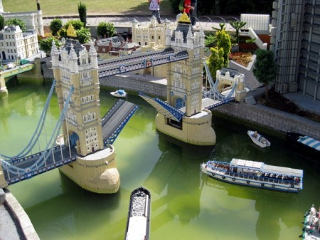 What's more fun: The real Tower Bridge or the one made of