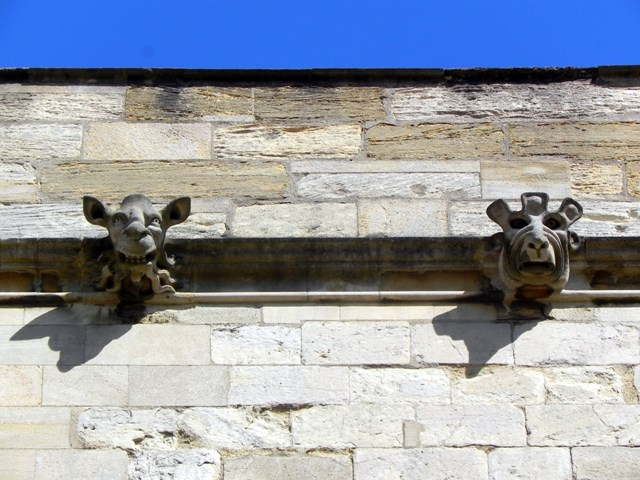 Gargoyles, New College, Oxford