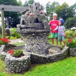 Castles, dinos, and birdhouses on the shores of Lake Champlain