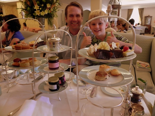 Our splendid high tea at Fortnum & Mason