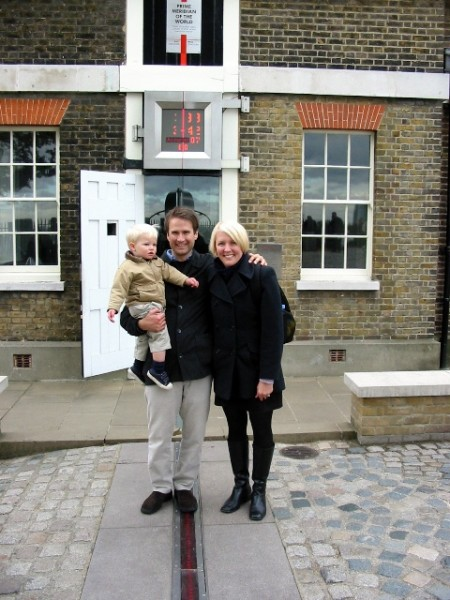At the Prime Meridian in 2003
