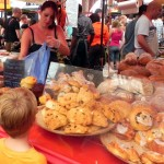 A family picnic from the Greenwich Market