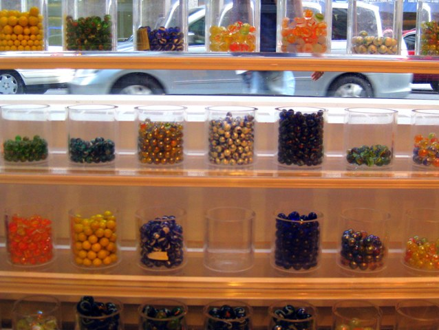 Marbles at FAO Schwarz