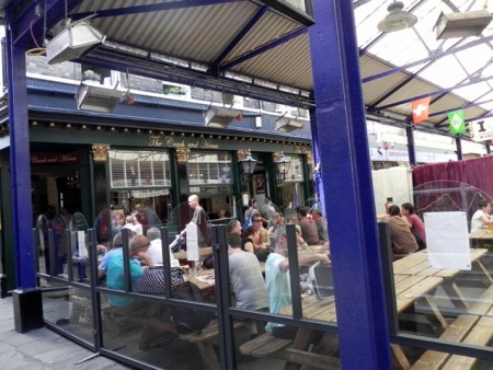 The Coach and Horses at the Greenwich Market