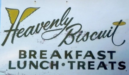 Heavenly Biscuit sign in Fort Myers Beach