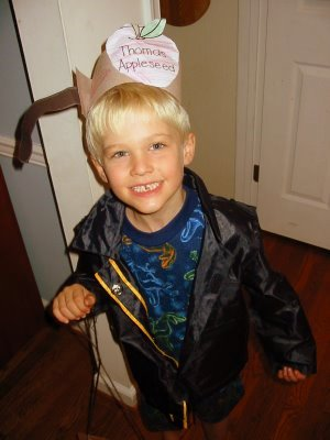Johnny Appleseed Halloween costume