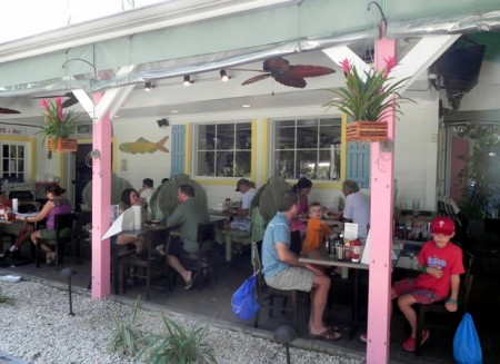 The Island Cow restaurant Sanibel