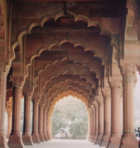 Arches Red Fort Delhi Indida