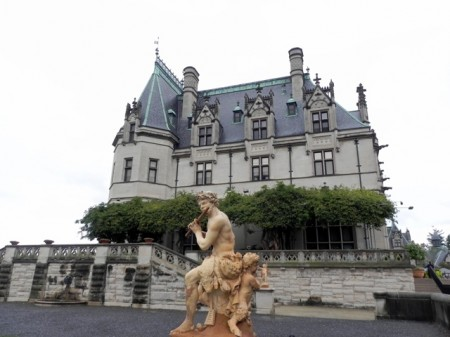 Biltmore house from the side