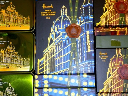 Chocolates at Harrods