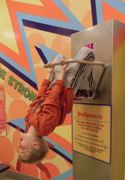 Endurance test at the Delaware Children's Museum