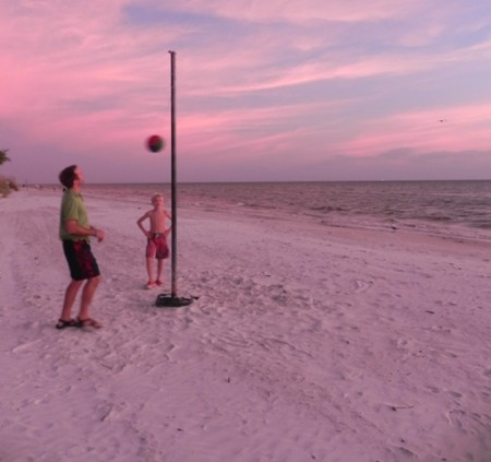 Tetherball at the Pink Shell