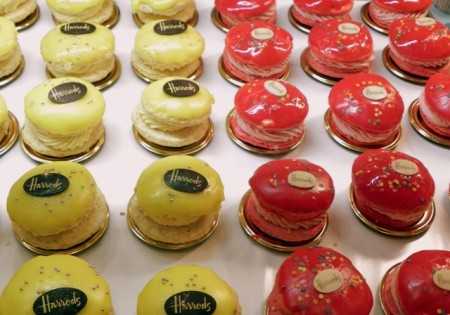 Whoopie pies at Harrods