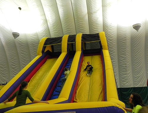 Giant slides, Smuggs Funzone