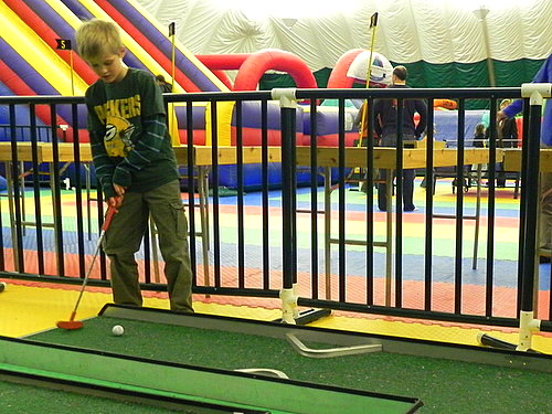 Minature golf, Smuggs Funzone