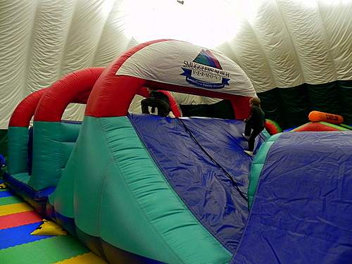 Obstacle course, Smuggs Fun Zone