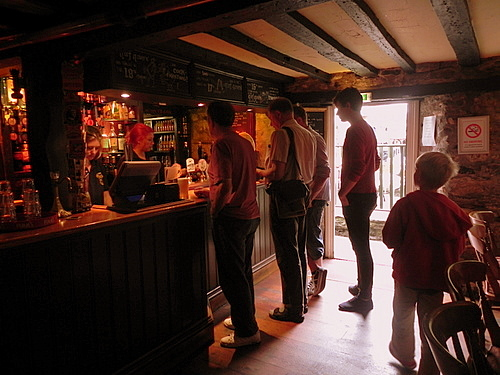 Inside of the Turf Tavern, Oxford