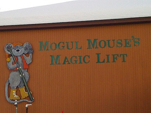 Mogul Mouse's Magic Lift at Smuggler's Notch