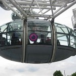 Car on the London Eye
