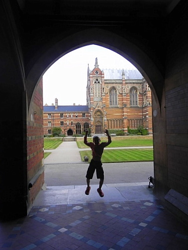 Staying at university in Oxford…with kids