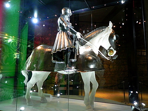 Henry VIII's armor at the Tower of London
