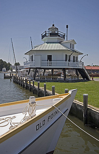 Hooper Strait Lighthouse in Saint Michaels, Maryland