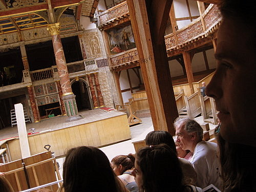 Interior of the Globe Theatre