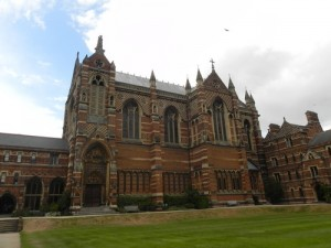 Keble College Chapel Oxford