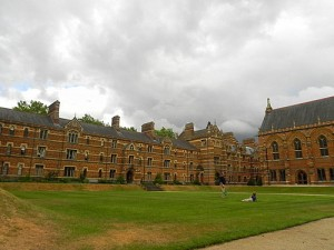 Keble College quad Oxford