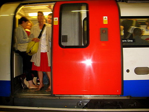 Northern Line train London Underground