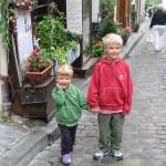 Visiting Montmartre or how my children rode every carousel in Paris