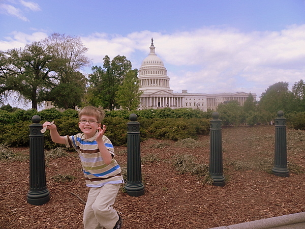 Fun on the U. S. Capitol grounds